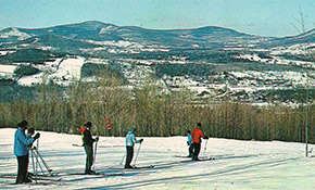 Cave Mountain Ski Area, now Windham Mountain Resort, circa 1960 (Credit: Collection of Patricia Morrow)