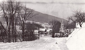 State Route 23, eastern entrance to the hamlet of Windham (Credit: Windham Town Historian's Collection)
